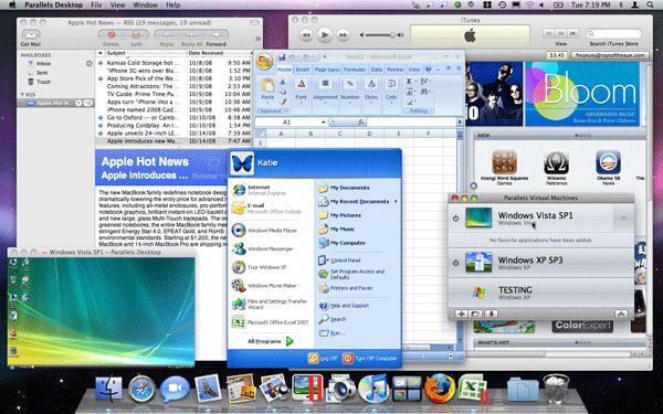 Parallels Desktop 10.0.1.27695 Mac software screenshot