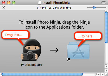 Photo Ninja 1.0.4c Mac software screenshot