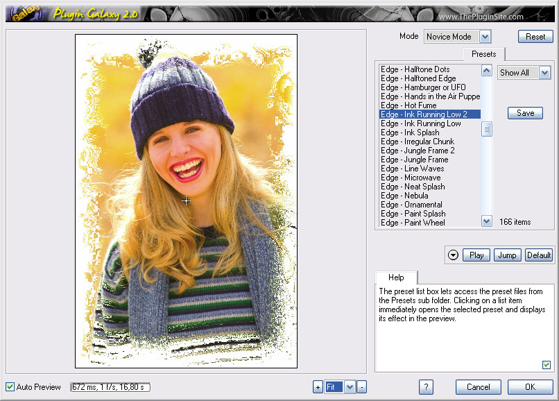 Plugin Galaxy 2.02 Mac software screenshot