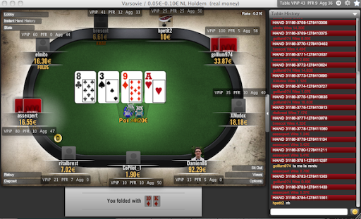 Poker Copilot 3.26 Mac software screenshot