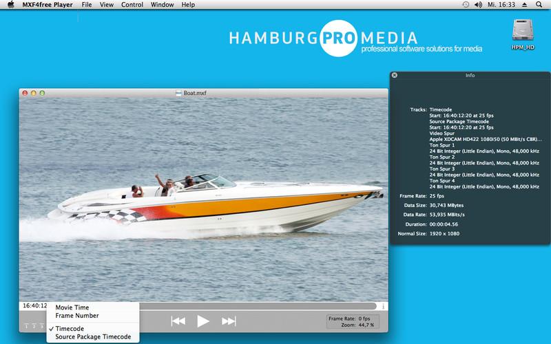 ProApps QuickTime Codecs 1.0.4 Mac software screenshot