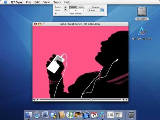 QT Sync 0.3.3 Mac software screenshot