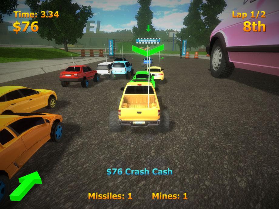 RC Mini Racers 2.3 Mac software screenshot