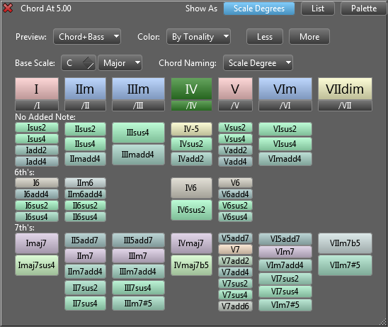 RapidComposer LE 2.06 Mac software screenshot