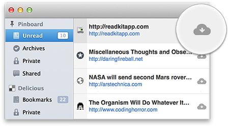 ReadKit 1.2 Mac software screenshot