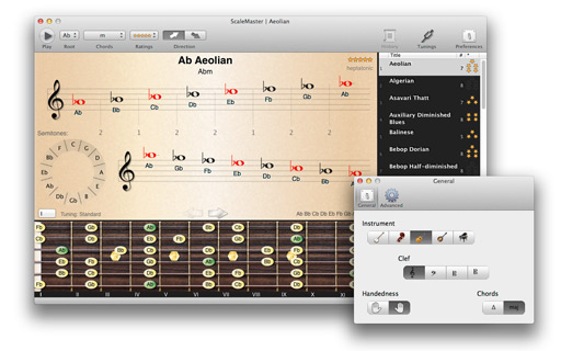 ScaleMaster 3.1.0 Mac software screenshot