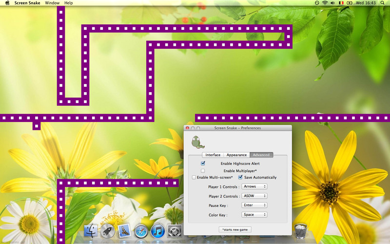 Screen Snake Plus 3.0 Mac software screenshot