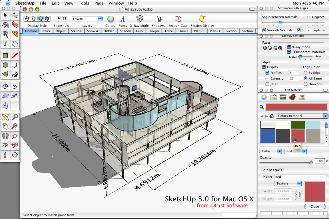 SketchUp 13.0.4811 Mac software screenshot