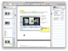 Skim 1.4.6 Mac software screenshot