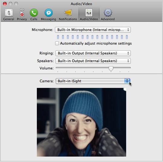 Skype 6.19.450 Mac software screenshot