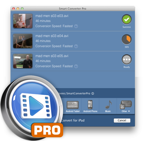 Smart Converter Pro 2.1.1 Mac software screenshot