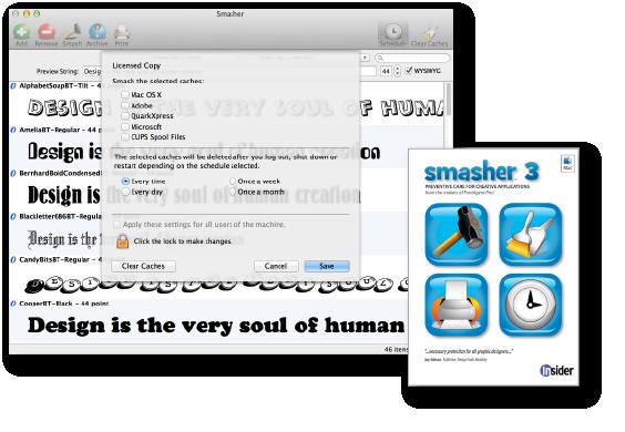 Smasher 3.006 Mac software screenshot