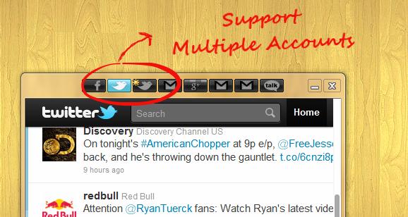 Social for Twitter 2.0.7 Mac software screenshot