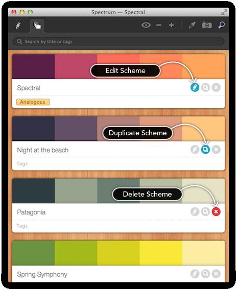Spectrum 1.4 Mac software screenshot
