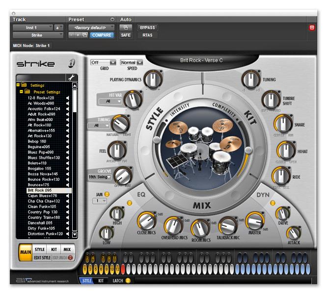 Strike 1.5.1 Build 15293 Mac software screenshot