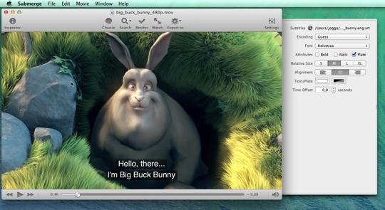 Submerge 2.2.2 Mac software screenshot