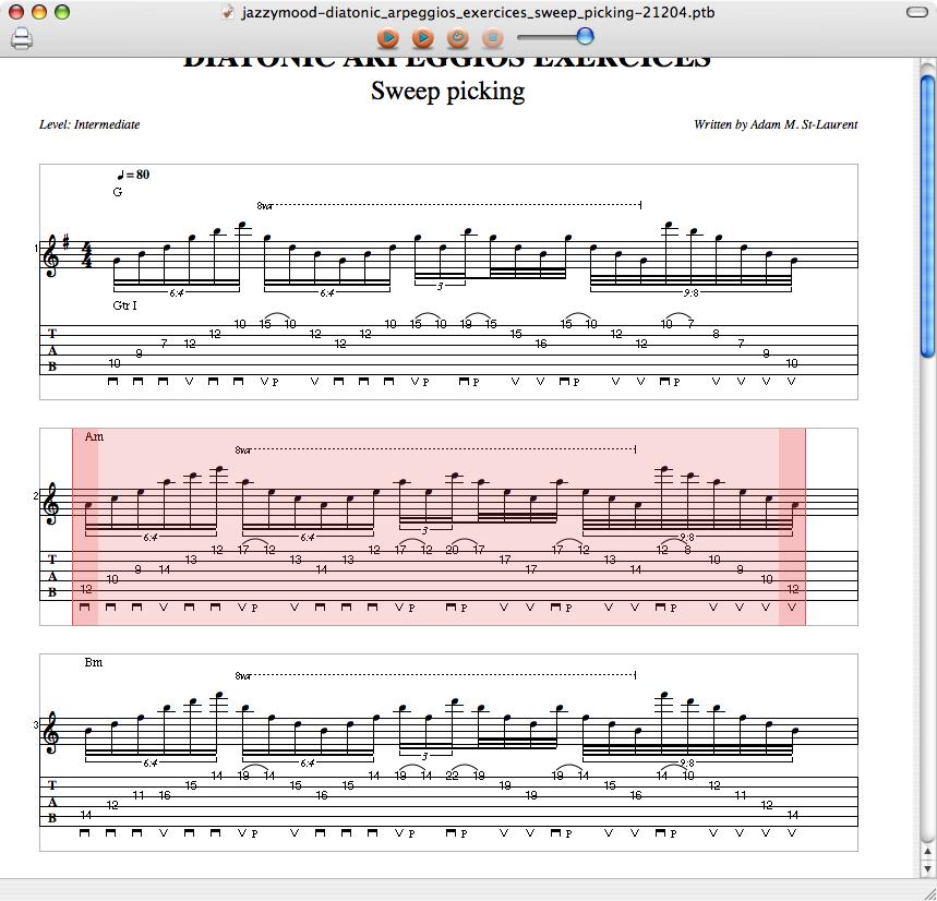 TabView 2.12 Mac software screenshot