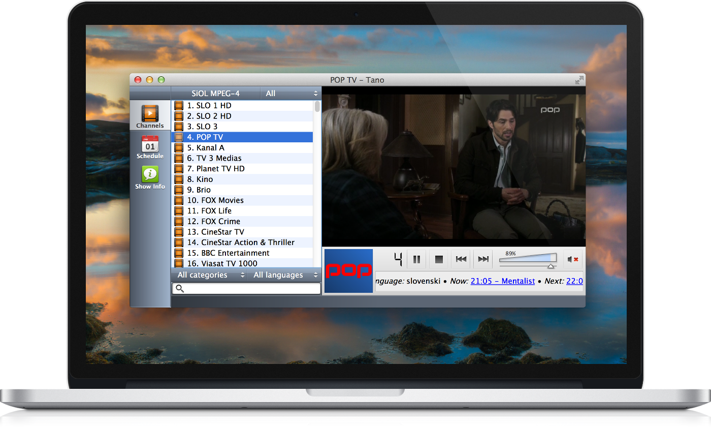 Tano Player 2.0 Beta 2 Mac software screenshot