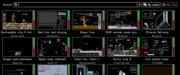The Powder Toy 88.1.272 Mac software screenshot
