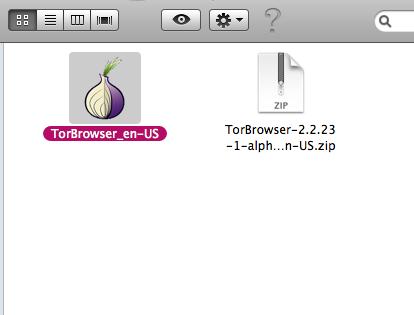 Tor 0.2.4.23 Mac software screenshot