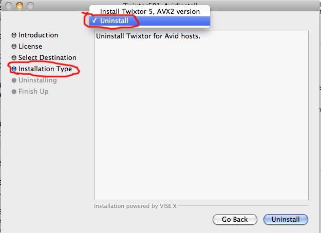 Twixtor for After Effects 6.1.0 Mac software screenshot