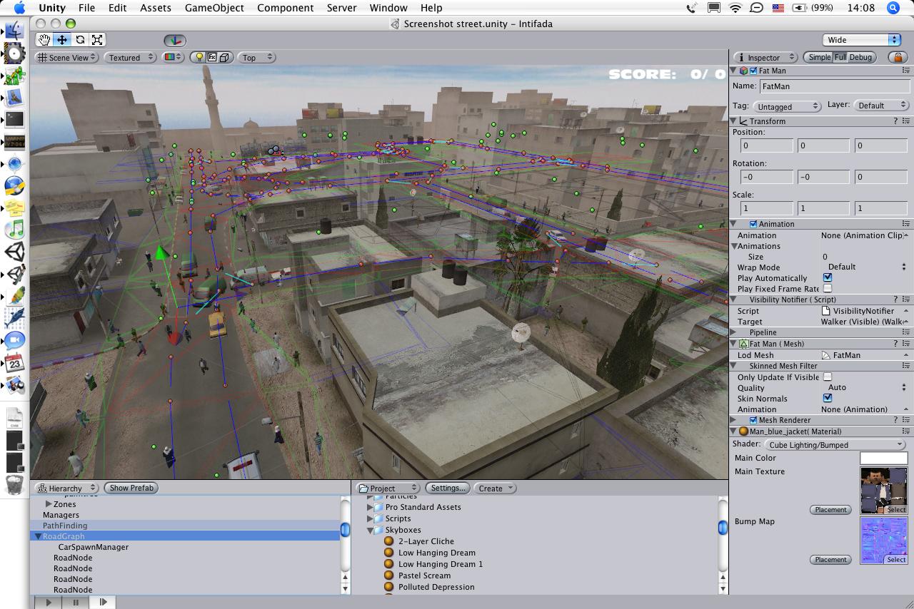Unity 4.5.1 Mac software screenshot