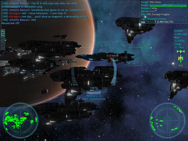 Vendetta Online 1.8.254 Mac software screenshot