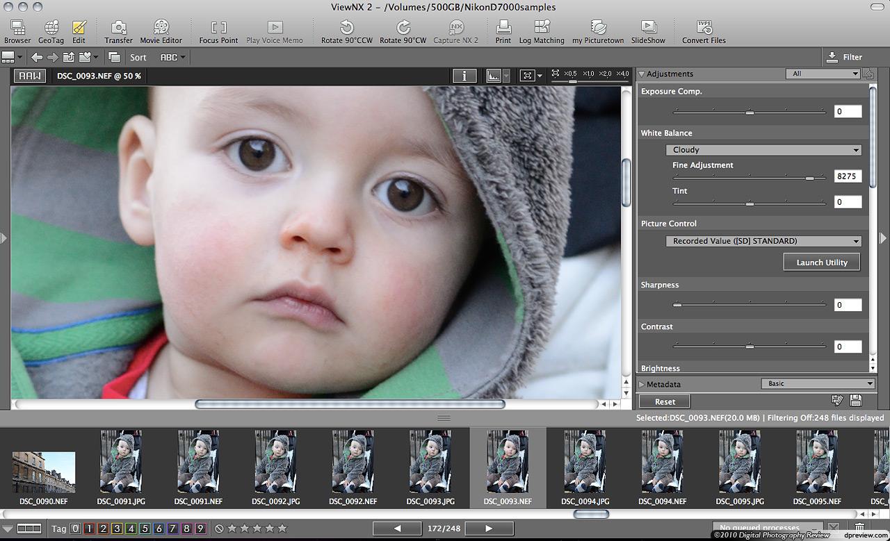 ViewNX 2 2.7.4 Mac software screenshot
