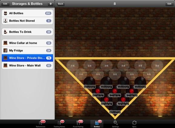 Vinoteka 3.1.0 Mac software screenshot