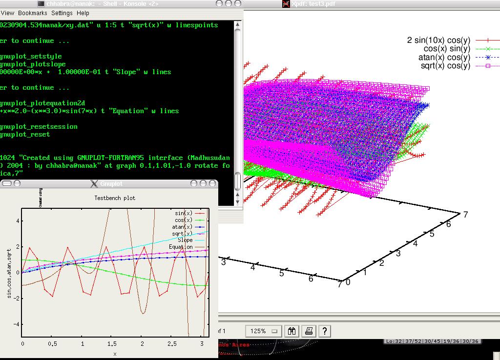 gnuplot 4.6.3 Mac software screenshot