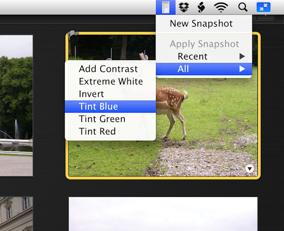 iPhoto Batch Enhancer 3.6 Mac software screenshot