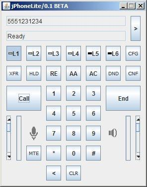 jphonelite 1.0.1 Mac software screenshot