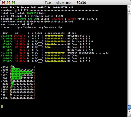 libtorrent 0.16.13 Mac software screenshot