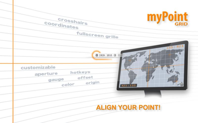 myPoint Grid 1.3 Mac software screenshot