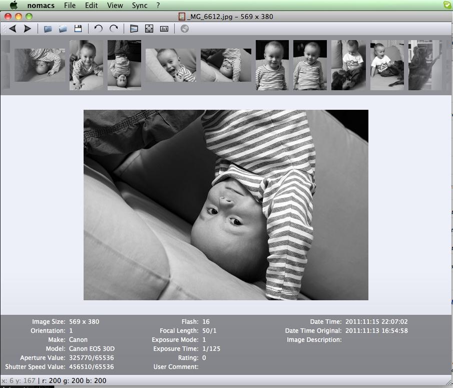 nomacs 1.0.0 Mac software screenshot