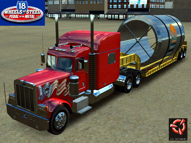 18 Wheels of Steel Pedal to the Metal 1.07 software screenshot