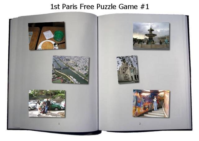 1st Paris Puzzle Game Part 1 1.0 software screenshot