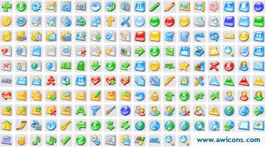 3D Aqua Icons Collection 1.5 software screenshot