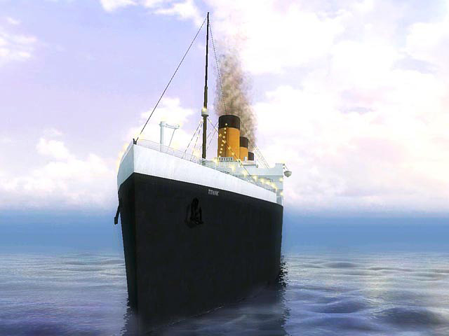 3D Titanic Screensaver 1.4 software screenshot