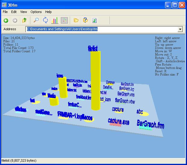 3Dfm 1.0 software screenshot