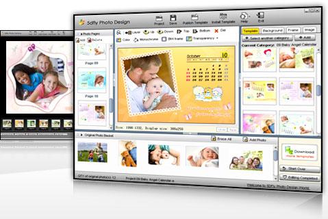 5DFly Photo Design 4.1.30 software screenshot