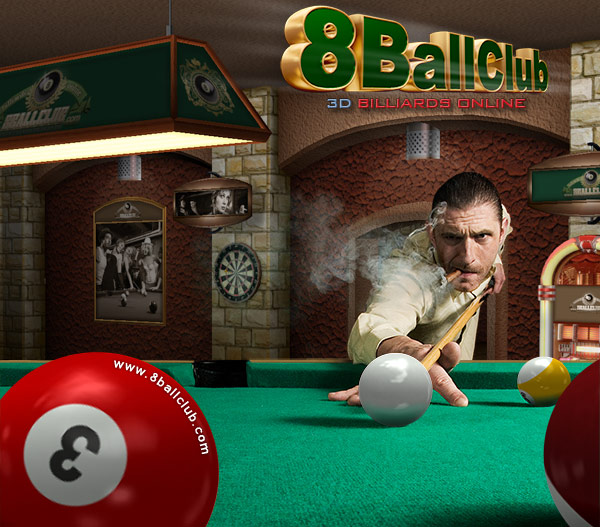 8BallClub Billiards Online 3.33 software screenshot