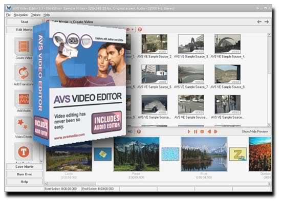 A V S - VIDEO Editor 3.4.9.42894 software screenshot