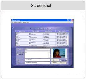 ABCDirectory 1.0 software screenshot