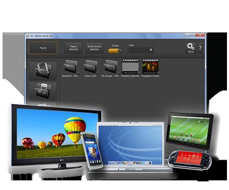 ALLMediaServer 0.95 software screenshot