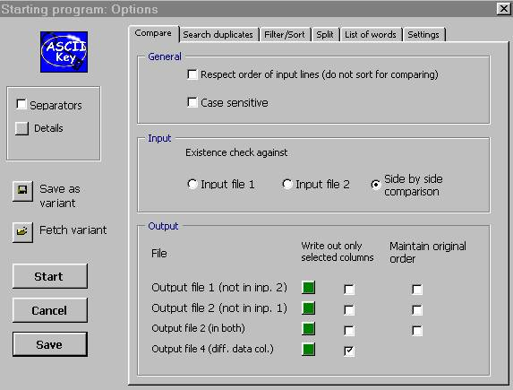ASCII Key 1.3 software screenshot