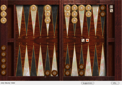 Absolute Acey Deucey Backgammon 5.7.1 software screenshot