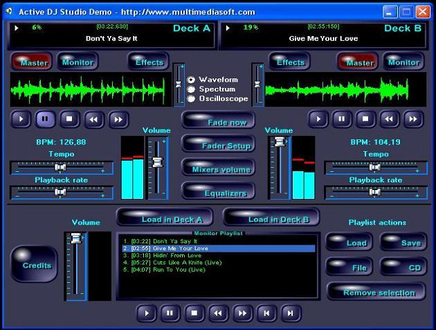 Active DJ Studio 8.2.1.0 software screenshot