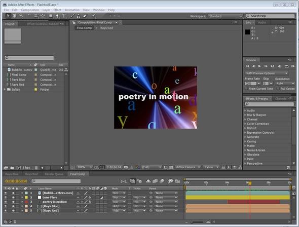 Adobe After Effects CC 2017.2.1 14.2.1 software screenshot