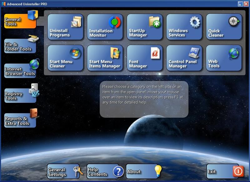 Advanced Uninstaller PRO 12.18 software screenshot